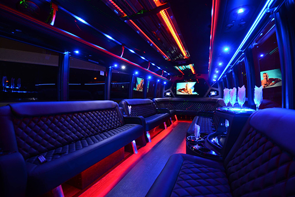 40 Person Party Bus Rental Arlington