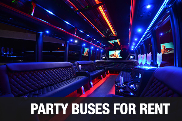 Party Buses For Rent Arlington